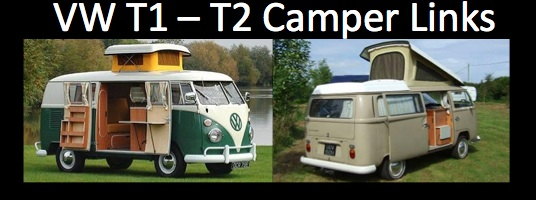 VW T1 - T2 Camper Links