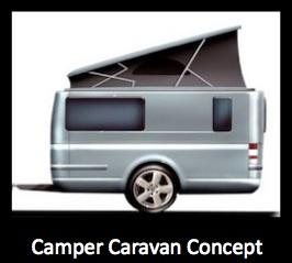 camper caravan concept