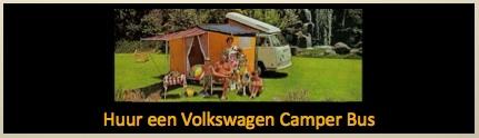 huur een vw camper bus