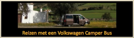 reizen met vw camper bus