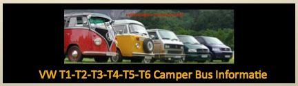 vw camper bus informatie