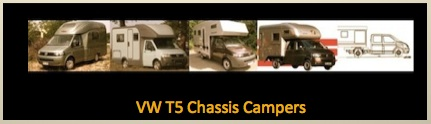 VW T5 Chassis Campers